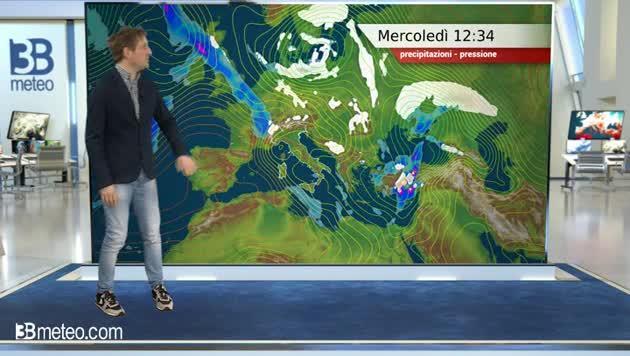 Video Meteo di Oggi: Le Previsioni del Tempo per L'Italia - 3BMeteo ...