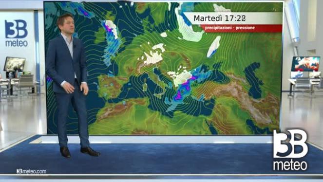 Guarda il video delle previsioni di domani