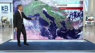 Domenica tornano le piogge al Nord e sulla Toscana