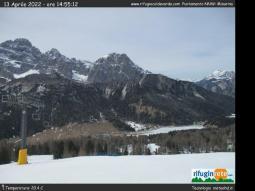 Rifugio Col de Varda puntamento WNW