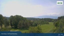 Golf Club Petersberg, Vista verso Aldino e la Val d\'Adige