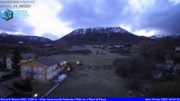 Rocca di Mezzo - Vista verso monte Rotondo