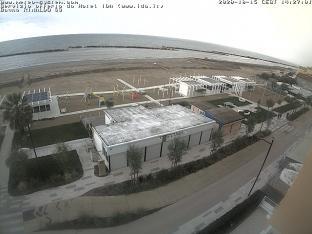 Torre Pedrera - Vista sulla spiaggia dell'hotel Ida e del Bagno Rinaldo