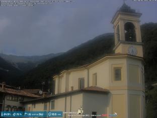 Burligo di Palazzago, parcheggio chiesa/partenza escursioni