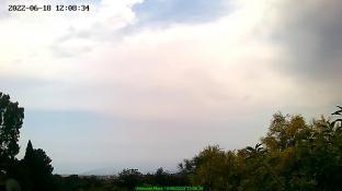 Vista lato sud dell\'Etna