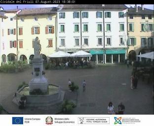 Cividale del Friuli - Piazza Paolo Diacono