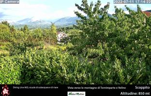 Webcam Scoppito verso Tornimparte