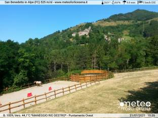 San Benedetto In Alpe - puntamento Ovest