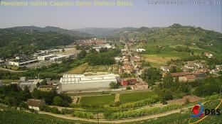 Santo Stefano Belbo panorama da collina Casaroni