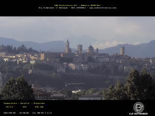Bergamo verso Città Alta
