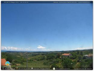 Visuale panoramica ad Est