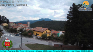 Webcam San Pietro Avellana