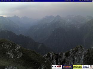 Monte Secco vista Est