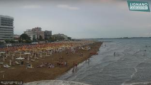 Lignano Sabbiadoro - Spiaggia centrale Nord